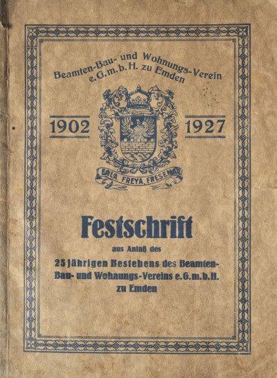 Festschrift 1927