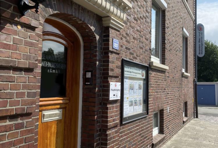 Eingang Büro